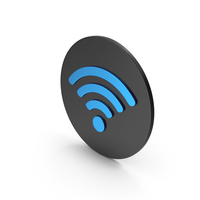 WIFI Blue Icon PNG & PSD Images