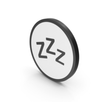 Icon ZZz Sleep PNG & PSD Images