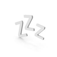 Symbol ZZz Sleep PNG & PSD Images