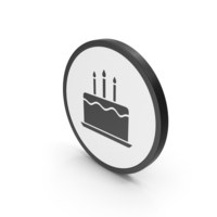 Icon Birthday Cake PNG & PSD Images