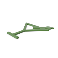 Bar Green Symbol PNG & PSD Images