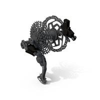 Rear Bike Gear Shift PNG & PSD Images