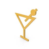 Bar Yellow Symbol PNG & PSD Images