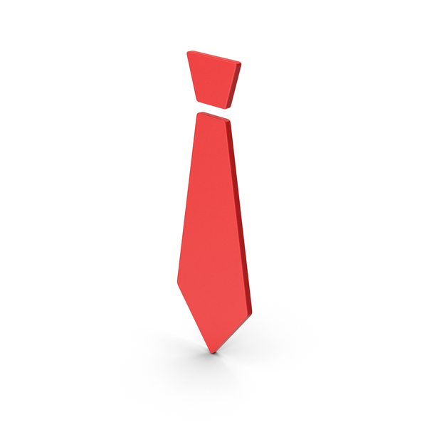 Symbol Tie Red PNG & PSD Images