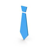 Symbol Tie Blue PNG & PSD Images