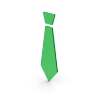 Symbol Tie Green PNG & PSD Images