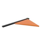 Flag Black and Orange Symbol PNG & PSD Images