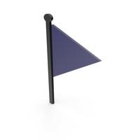 Flag Black and Dark Blue Symbol PNG & PSD Images