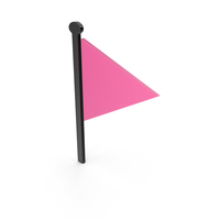 Flag Black and Pink Symbol PNG & PSD Images