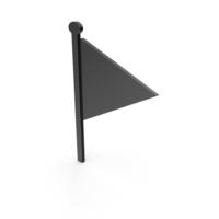 Flag Black Symbol PNG & PSD Images