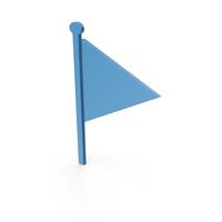 Flag Blue Symbol PNG & PSD Images