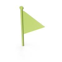 Flag Green Symbol PNG & PSD Images