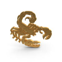 Scorpion Zodiac Icon PNG & PSD Images