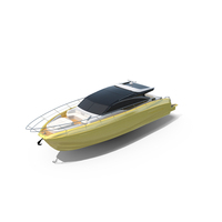 Yellow Sea Yacht PNG & PSD Images