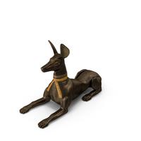Anubis Statue PNG & PSD Images