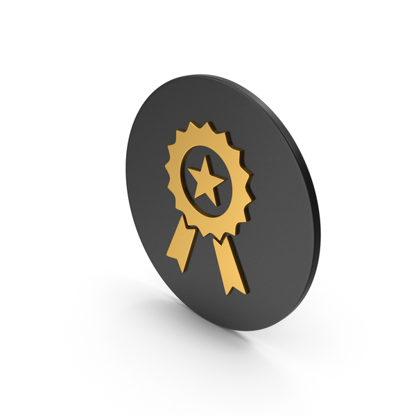 Award Gold Icon PNG & PSD Images