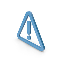 Warning Blue Icon PNG & PSD Images