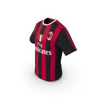 Soccer T Shirt Milan PNG & PSD Images