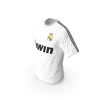 Soccer T Shirt Real Madrid PNG & PSD Images