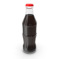 Soda Glass Bottle PNG & PSD Images