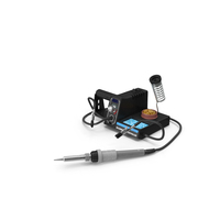 Soldering Iron Station Kit PNG & PSD Images