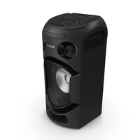 Sony V21 High Power Audio System OFF PNG & PSD Images