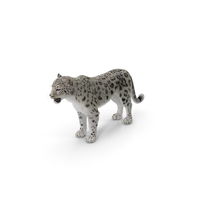 Snow Leopard with Fur PNG & PSD Images
