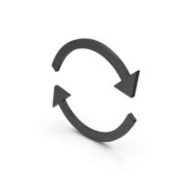 Symbol Repeat Black PNG & PSD Images
