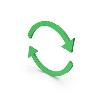 Symbol Repeat Green PNG & PSD Images