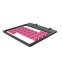 Calendar Black and Pink Symbol PNG & PSD Images