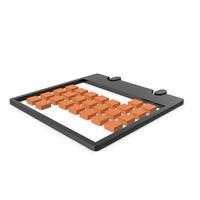 Calendar Black and Orange Symbol PNG & PSD Images