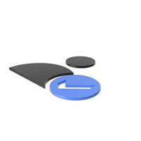 Verified User Black and Blue Icon PNG & PSD Images