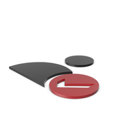 Verified User Black and Red Icon PNG & PSD Images
