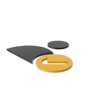 Verified User Black and Yellow Icon PNG & PSD Images