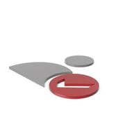 Verified User Grey and Red Icon PNG & PSD Images