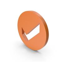 Check Mark Orange PNG & PSD Images