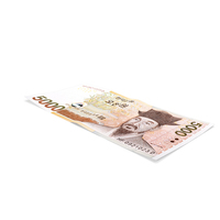 South Korean 5000 Won Banknote PNG & PSD Images