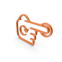 Rotate Finger Orange Icon PNG & PSD Images