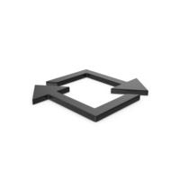 Black Symbol Repeat PNG & PSD Images