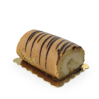 Banana Roll Cake PNG & PSD Images