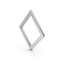 Rhombus Silver PNG & PSD Images