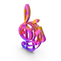 Clef Music Design Color PNG & PSD Images