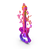 Guitar Sound Musical instrument Color PNG & PSD Images