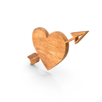 Heart Love Wood PNG & PSD Images