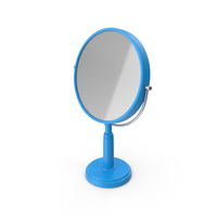 Table Mirror Blue PNG & PSD Images
