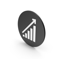 Graph Chart Icon PNG & PSD Images