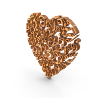 Music Heart Love  Wood PNG & PSD Images