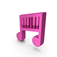 Music Piano Play Pink PNG & PSD Images