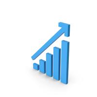 Symbol Graph Chart Blue PNG & PSD Images