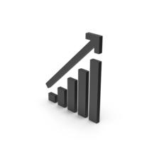 Symbol Graph Chart Black PNG & PSD Images